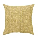 Best Benzara Beddings - GAIL Contemporary Small Pillow, Yellow Finish, Set of Review