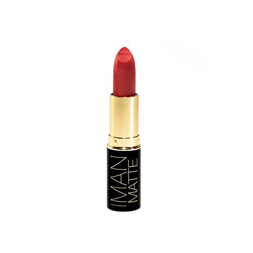 IMAN Cosmetics Matte Lipstick, Red, Vice