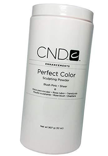 Creative Nail Perfect Color Acrylic Sculpting Nail Powder BLUSH PINK SHEER 32 oz