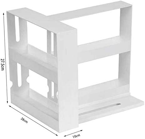 Baifeng organizador giratorio de cocina Estante de almacenamiento multifunci/ón para especias