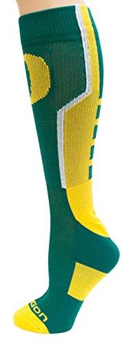Donegal Bay NCAA Oregon Ducks Unisex Oregon Green Sport Sockoregon Sport Sock, One Size by Donegal Bay