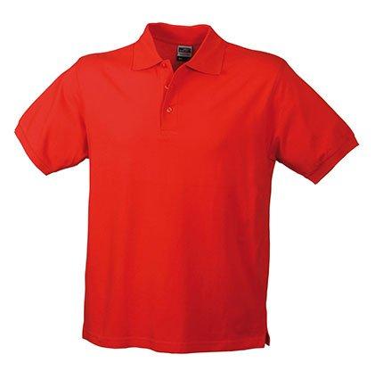Klassisches Hochwertiges Polohemd (S - 3XL) M,Red