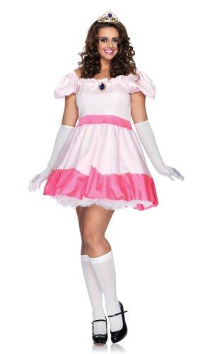 Pink Princess Costume - Plus Size 1X/2X - Dress Size -