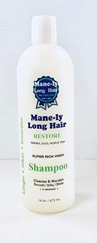 Mane-ly Long Hair Restore Shampoo (Best Hair Product For Long Thick Hair)