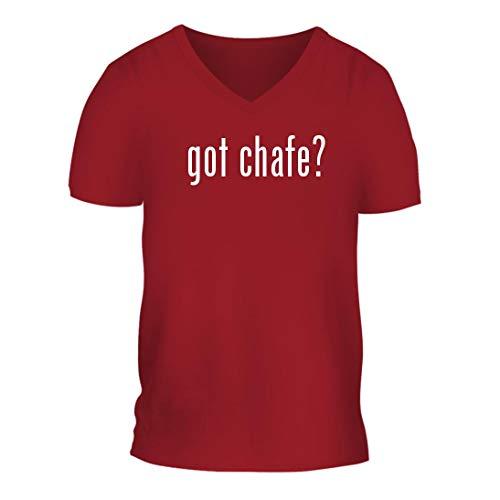got Chafe? - A Nice Men's Short Sleeve V-Neck T-Shirt Shirt, Red, Large