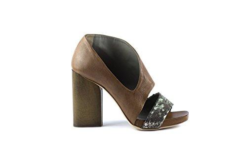 Cuero Mujer Para Vestir Sandalias de IXOS 7qxPHwn