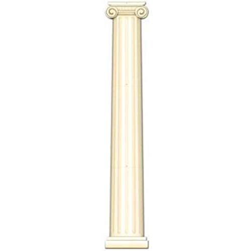 hersrfv home Jointed 6 Foot Roman Column Cutout Italian Decoration