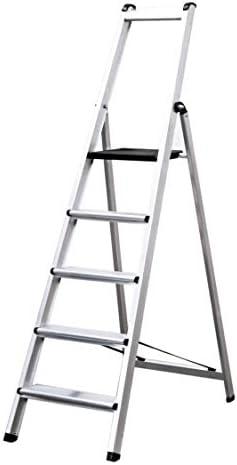 Escalera TORO. Profesional Peldaño Ancho Soldado (5 Peldaños). BTF-TJE505: Amazon.es: Bricolaje y herramientas