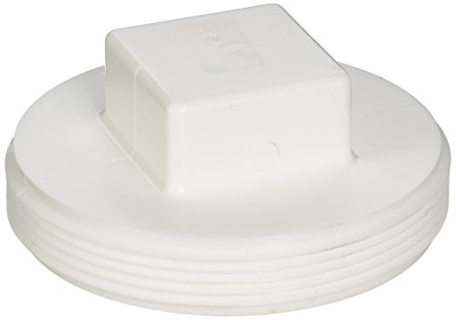 Styrene Plug - Genova Products 41840 Styrene Clean-Out Plug, 4