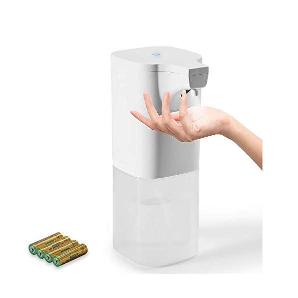 Auxmir-Automatischer-Desinfektionsspender-350ml-Automatik-Sprhspender-mit-Sensor-Alkoholsprhgert-Infrarot-Desinfektion-Elektrisch-Berhrungslos-Alkoholspray-fr-Kchen-Bad-Schule-Hotel-Bro-Wei