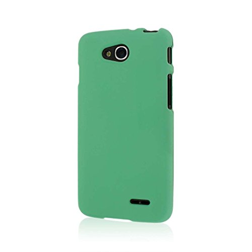 LG Optimus L90 Case, MPERO SNAPZ Series Rubberized Case for LG Optimus L90 - Mint - Case L90 A Lg For