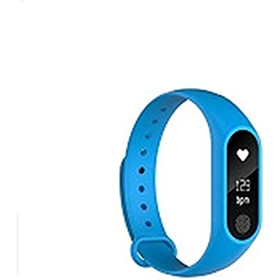 NFGGLM Bracelet Heart Rate Monitor Pedometer Smart band Waterproof Bluetooth Smart Wristband Estimated Price £30.74 -