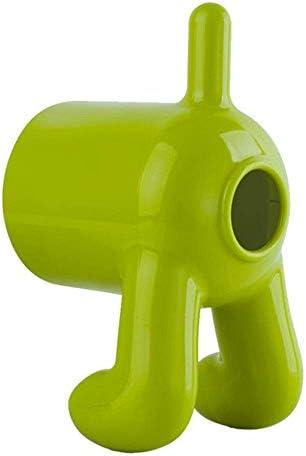 Chuihui Tissue-Boxen Rollenpapier-Halter-kreative nette Hundeform-Kunststoff Stehen Tissue Box Magie Aufkleber Handing Toilettenpapierhalter, Gelb, China Geeignet für jede Szene