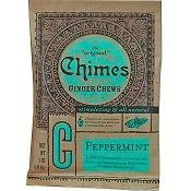 Peppermint Ginger Chews - Chimes All Natural Peppermint Ginger Chews - 2 oz Tin by Chimes