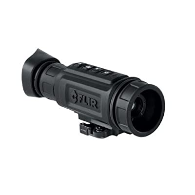 FLIR LS-X 19mm Compact Thermal Night Vision Monocular, NTSC 60Hz Refresh Rate, 336x256 VOx Microbolometer Detector