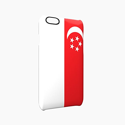 Flag of Singapore Glossy Hard Snap-On Protective iPhone 6 Plus + / 6S Plus + Case Cover