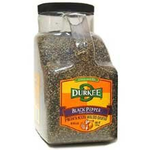Durkee Black Pepper, Course Grind, 5-Pound by Durkee
