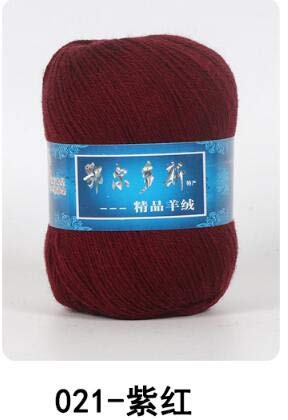 Cashmere Hand-Knitted Yarn | Cashmere Wool Yarn | Cashmere Knitting Yarn Ball | Scarf Wool Yarn (1pc=50g) (021 Yarn)