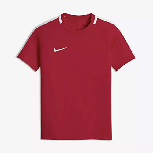 Nike Dry Academy Training Football Soccer T-Shirt Jersey (Red) - Kids