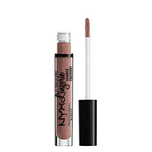 Nyx Professional Makeup Lip Lingerie Shimmer, Toffee Nude, 0.11 Ounce