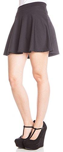 ragstock-basic-flared-skater-skirt-black-medium