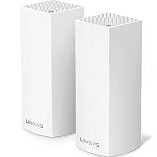 Linksys Velop Tri-Band Home Mesh WiFi System - WiFi Router/WiFi Extender for Whole-Home Mesh Network (2-pack, White) (B01MSSUG2H) | Amazon Products