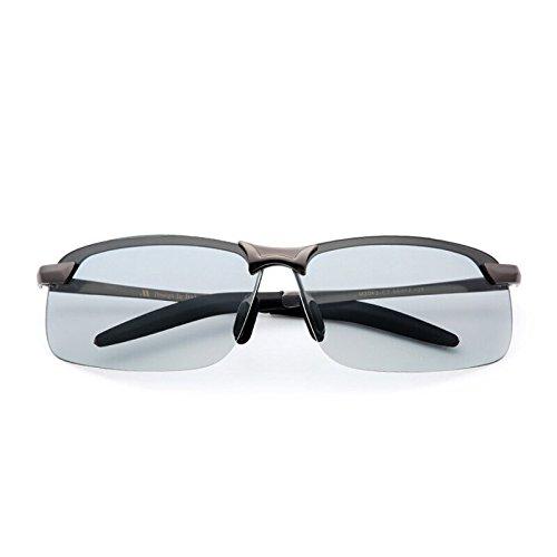 los Color y polarizadores Lampara de Black de luz KOMNY Nocturna los Gafas Conductores Espejos de Gafas de Gafas Masculinos Gafas Gafas Vision Sol Sol de polarizada de Polarized Sol de Light Hombres d77Pqx14