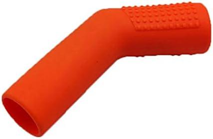 couvre-levier de changement de vitesse en caoutchouc couvre-chaussures de protection en caoutchouc Couverture de protection pour v/éhicule en caoutchouc Orange