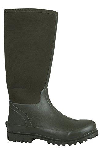 Berg Lager Neopren Mucker Mens Lång Boot Khaki