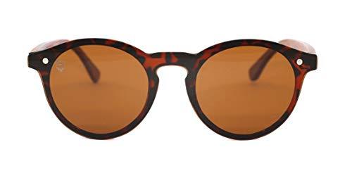 Óculos De Sol De Acetato Com Madeira Tiana Turtle, MafiawooD