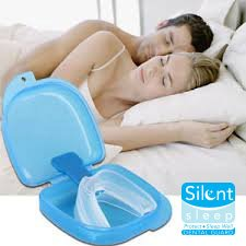 Silent Sleep Teeth Mouth Guard - Stop Teeth Grinding and Clenching - Best Teeth Grinding Solution on the Market 100% Satisfaction Guaranteed! by Sparkling White Smiles