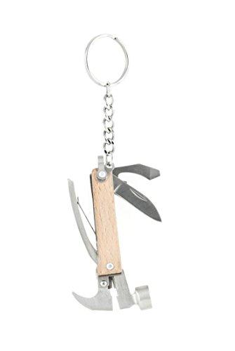 Silver Hammer - Kikkerland KR13-W Mini Wooden Hammer Tool