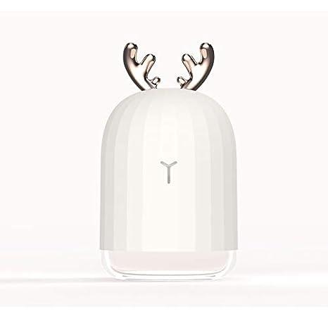 Amazon Com Leezo Cute Deer Mini Usb Humidifier With Night Light