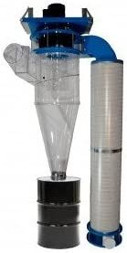 Clear Vue Cyclones CV1800LH 18 diameter, 6 intake Dust Collection Cyclone kit, single phase with filters