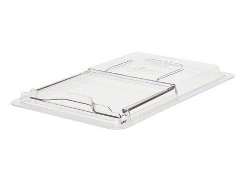 """Cambro (1218SCCW135) Tapa de 12 """"x 18"""" para cajas de alimentos de tamaño medio - Camwear SlidingLids"""