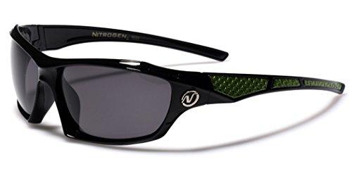 Polarized Wrap Around Sport Sunglasses - Black & - Cheap Best Polarized Sunglasses