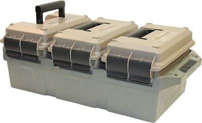 MTM AC3C 3-Can Ammo Crate (.50 Caliber) 50 Cal Ammo Types