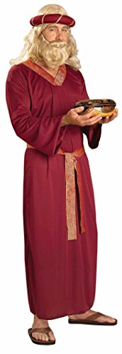 Forum Novelties Men's Biblical Times Wise Man Costume, Burgundy, One Size