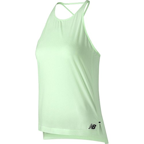 Q Speed Woven Tank Top, Sea Foam, Large (New Balance Woven Shirt)