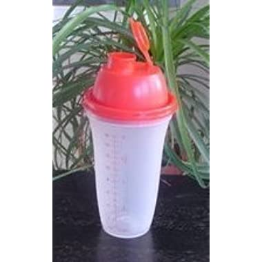Tupperware Quick Shake Container, Red