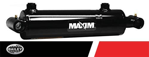 Maxim WT Welded Cylinder: 2 Bore x 12 Stroke - 1.25 Rod Diameter, 3000 PSI with SAE #6 Port Size, Retracted: 20 and Extended: 32, 1