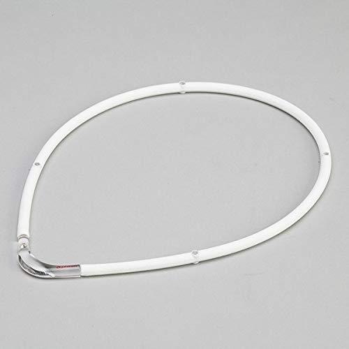 ファイテン(phiten) 【ファイテン】RAKUWA磁気チタンネックレスS-2【ホワイト:45cm/55cm/45cm】