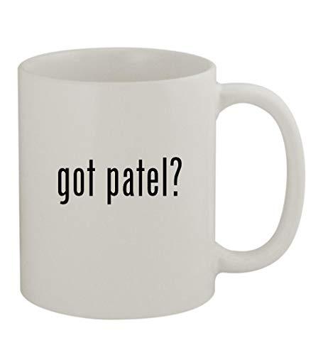 got patel? - 11oz Sturdy Ceramic Coffee Cup Mug, White