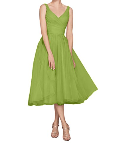 Gruen Kleider Braut Kleider Rosa Abendkleider Olive Kurz Jugendweihe Festliche La Knielang Marie XPwwTF