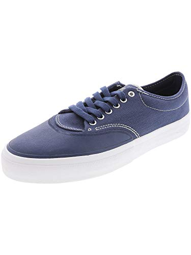 Converse Crimson Canvas Leather Cap-Toe Casual Everyday Sneaker - 12.5M / 11M - Navy/White/Natural