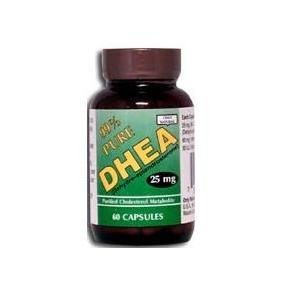 Only 60 Tablets - Only Natural DHEA 99% Pure Tablets 60 Capsules