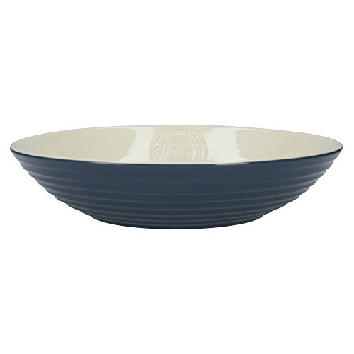 (Royal Botanic Gardens, Kew 'Richmond' Ribbed Ceramic Pasta Bowl, 23 cm (9