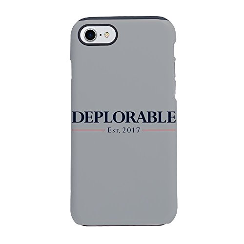CafePress - Deplorable Est 2017 - iPhone 8 / iPhone 7 Phone Case, Tough Phone Shell -
