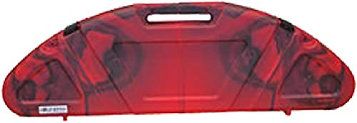 (Custom Manufacturing Genesis Hard Bow Case Red/Black Swirl)