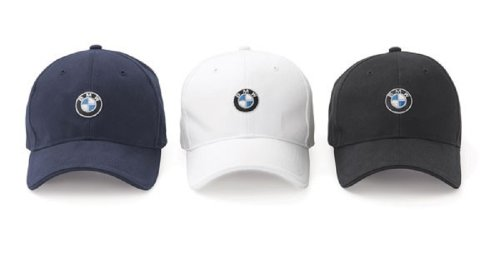 BMW Roundel Cap – White